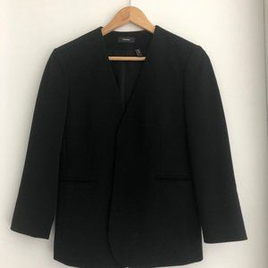 Theory buttonless blazer